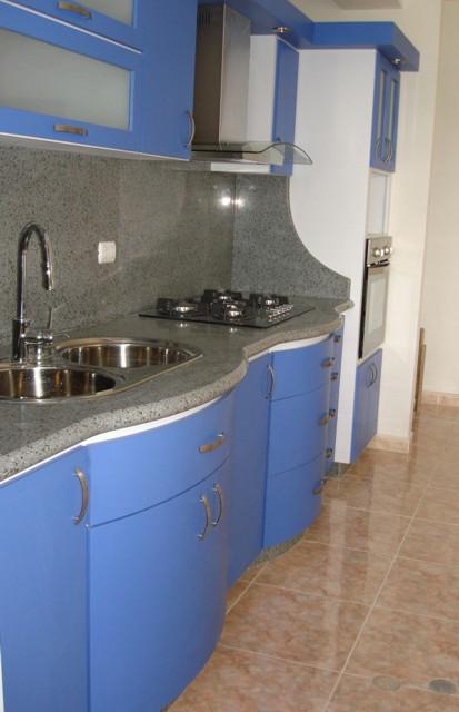 Cocinas empotradas peque as en cemento imagui for Modelos de cocinas empotradas en cemento y porcelanato